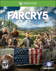 Box art for the game Far Cry 5