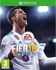 Box art for the game FIFA 18
