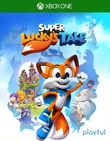 Box art for the game Super Lucky's Tale