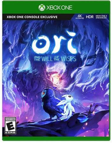 Box art for the game Ori and The Will of The Wisps