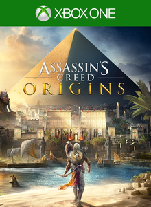 Capa do jogo Assassin's Creed Origins