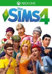Box art for the game The Sims 4