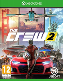 Box art for the game The Crew 2