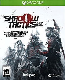 Box art for the game Shadow Tactics - Blades of the Shogun