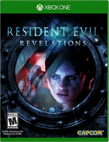 Box art for the game Resident Evil: Revelations