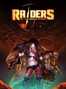 Box art for the game Raiders of the Broken Planet