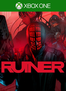 Box art for the game Ruiner