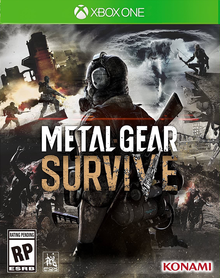 Box art for the game Metal Gear Survive