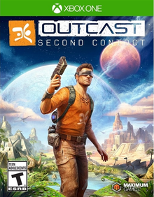 Box art for the game Outcast: Second Contact
