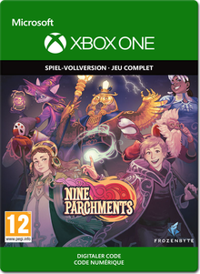 Box art for the game Nine Parchments