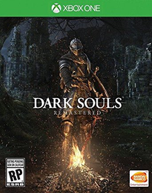 Capa do jogo Dark Souls: Remastered