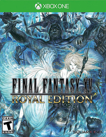 Box art for the game Final Fantasy XV: Royal Edition