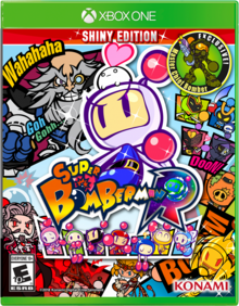 Box art for the game Super Bomberman R