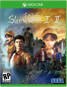 Box art for the game Shenmue 1 & 2