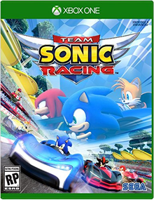 Box art for the game Team Sonic Racing