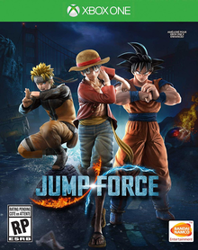Box art for the game Jump Force