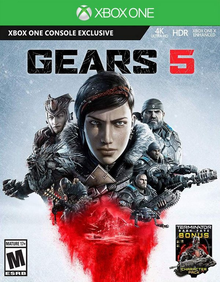 Box art for the game Gears of War 5