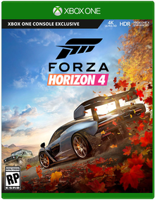 Box art for the game Forza Horizon 4