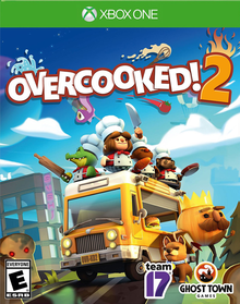 Box art for the game Overcooked! 2
