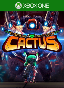 Box art for the game Assault Android Cactus