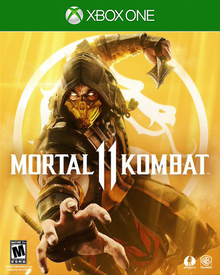 Box art for the game Mortal Kombat 11