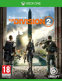 Box art for the game Tom Clancy's The Division 2