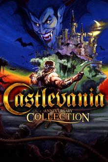 Box art for the game Konami 50th Anniversary Collection: Castlevania Anniversary Collection