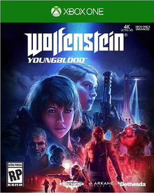 Box art for the game Wolfenstein: Youngblood