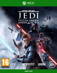Box art for the game Star Wars Jedi: Fallen Order