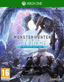 Box art for the game  Monster Hunter: World - Iceborne Master Edition