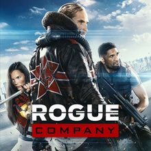 Box art for the game Rogue Company