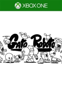 Box art for the game Gato Roboto