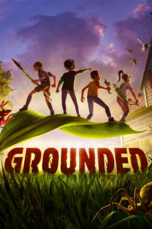Box art for the game Grounded