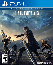 Box art for the game Final Fantasy XV