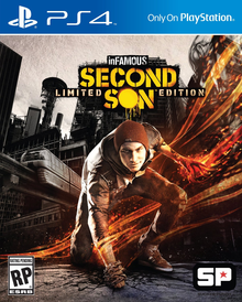 Box art for the game inFamous: Second Son