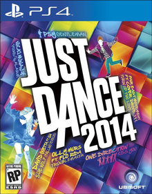 Box art for the game Just Dance 2014