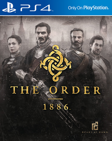 Box art for the game The Order: 1886