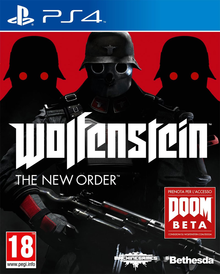 Box art for the game Wolfenstein: The New Order