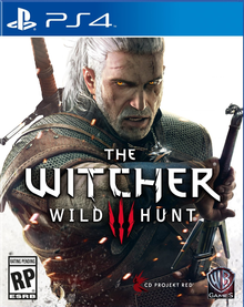Capa do jogo The Witcher 3: Wild Hunt