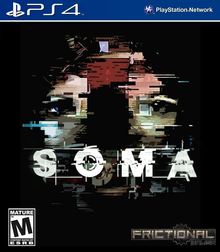 Box art for the game SOMA