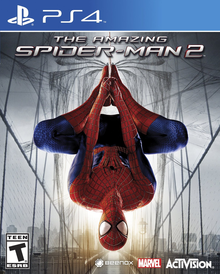 Box art for the game The Amazing Spider-Man 2