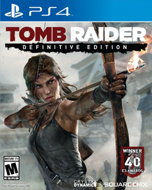 Box art for the game Tomb Raider Definitive Edition