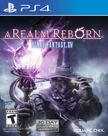 Box art for the game Final Fantasy XIV: A Realm Reborn