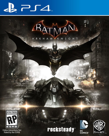 Box art for the game Batman: Arkham Knight