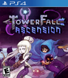 Box art for the game TowerFall Ascension