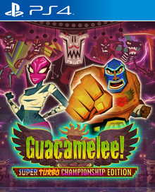 Box art for the game Guacamelee! Super Turbo Championship Edition