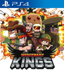 Box art for the game Mercenary Kings