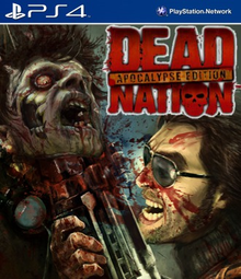 Box art for the game Dead Nation: Apocalypse Edition
