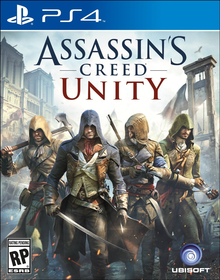 Box art for the game Assassin's Creed Unity