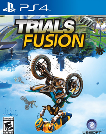Box art for the game Trials Fusion